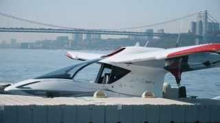 Flying the seaplane of the future, the Icon A5