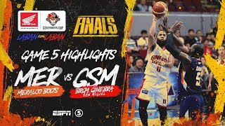 Highlights: G5: Meralco vs Ginebra | PBA Governors' Cup 2019 Finals