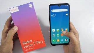 Xiaomi Note 7 Pro mobile unboxing || Mi Redmi note 7 pro mobile Nebula red unboxing details