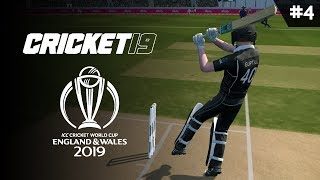 CRICKET 19   WORLD CUP 2019   GAME #4 (BAN VS NZ)