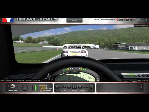 iRacing - World Record MX5 Cup on Lime Rock Park - 59.022s