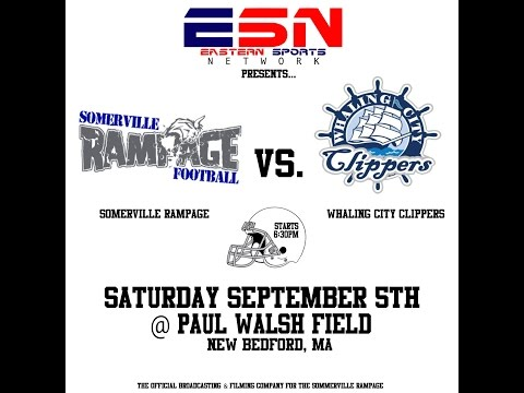 Somerville Rampage vs Whaling City Clippers