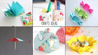 6 Easy Craft Ideas | Ventuno Art | Useful Things