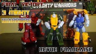 [Francais] Revue Video de Final Victory - 3 Mighty Warriors