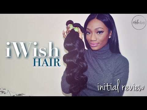 AliExpress IWISH HAIR   Brazilian Body Wave (Initial Review)