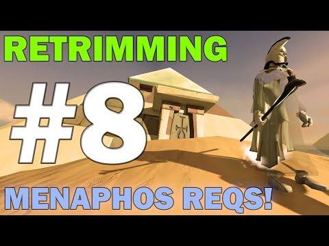 Retrimming   Episode 8 [MENAPHOS REQUIREMENTS!] Runescape 3 Gameplay