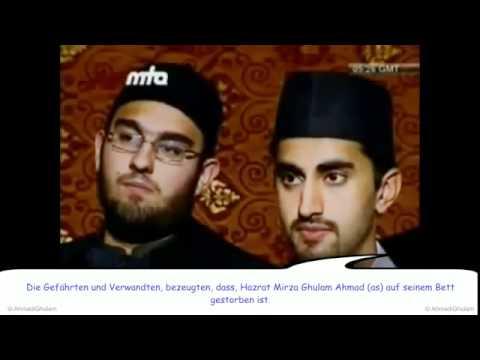 WO STARB hazrat MIRZA GHULAM AHMAD? ANTWORT an Lügner - Islam Ahmadiyya