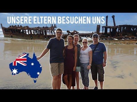 EMOTIONALES WIEDERSEHEN NACH 1 JAHR | Work and Travel | Fraser Island Vlog#36