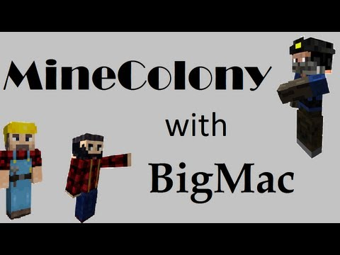 MineColony - S01E04 : Caves and New Mod