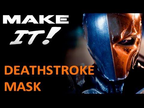 how to make a foam deathstroke mask