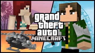 COMO SERIA GTA NO MINECRAFT?!