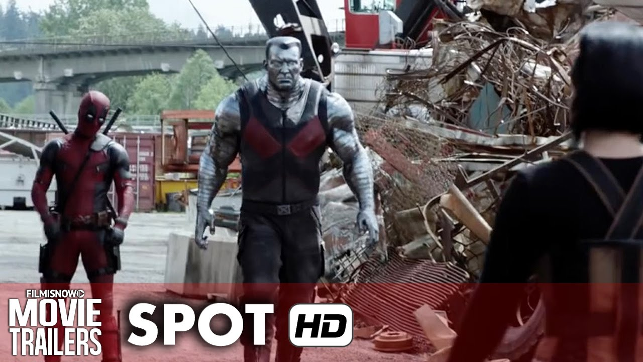 DEADPOOL TV Spot 'Colossus throwing that tire, tho!!! - Ryan Reynolds Marvel Movie [HD]