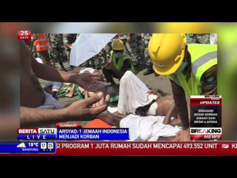 Breaking News: Insiden Mina, 1 Jemaah Asal Indonesia Meninggal