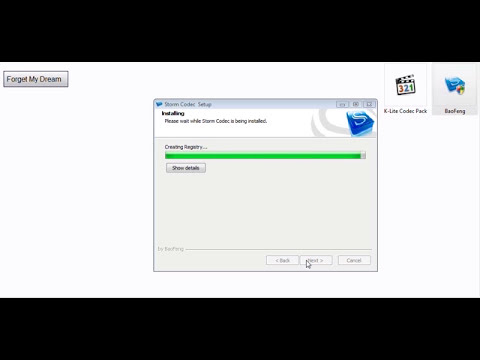 K Lite Codec Pack +BaoFeng شرح تنصيب برنامج