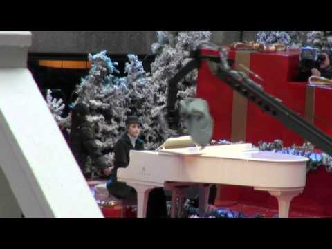 "Charice - ""Jingle Bell Rock"" Rehearsal, New York 2010"
