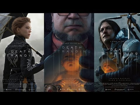 Death Stranding Trailer #1-4 | A Hideo Kojima Game