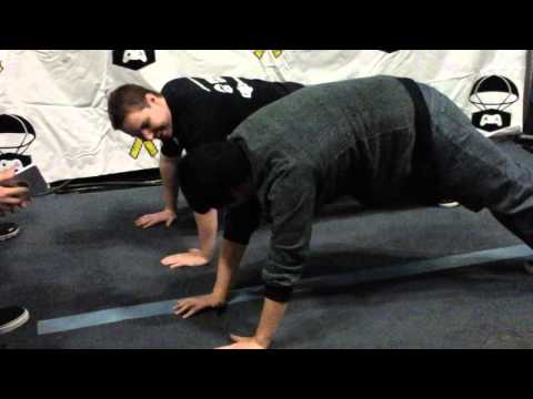 PAX SOUTH Operation supply drop push up challenge
