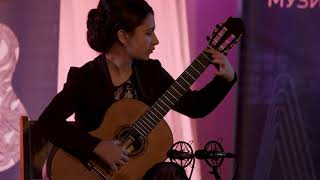 Pleven Guitar Fest 2018 winner Second B age group Bilyana Lazarova