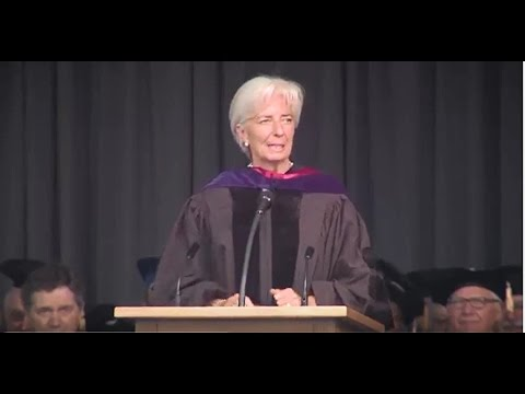 Madam Christine Lagarde's commencement speech - Illinois Institute of Technology