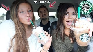 Letting My Friends Pick My Starbucks Drinks For A WEEK!!