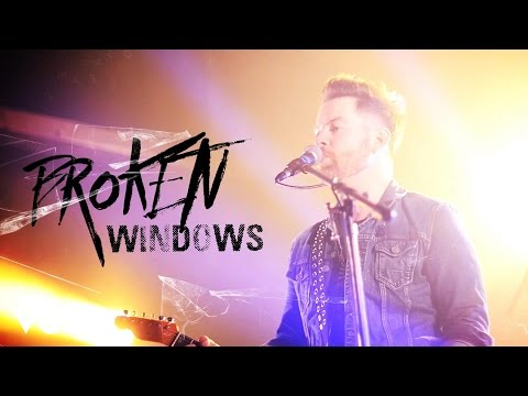 David Cook Broken Windows rock music videos 2016