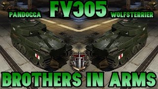 World of Tanks // FV305 // Brothers in Arms // Xbox One