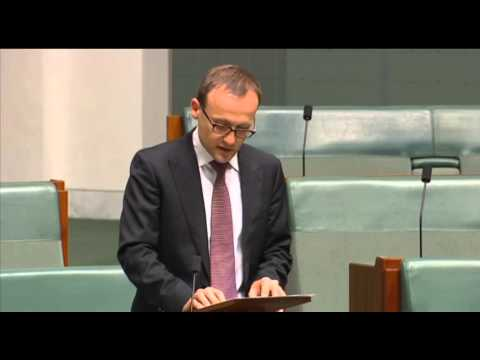 Adam Bandt MP speaks on protecting  undersea telecommunications cables