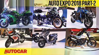 Auto Expo 2018 | Wrap-up report - Part 2 - Bikes | Autocar India