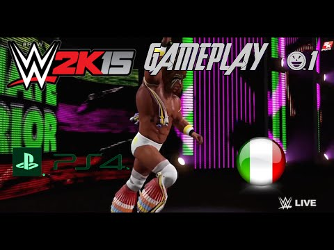 WWE 2K15 Gameplay (PS4) [ITA] - Path Of The Warrior #1