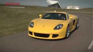 Porsche Carrera GT - hero cars by www.autocar.co.uk