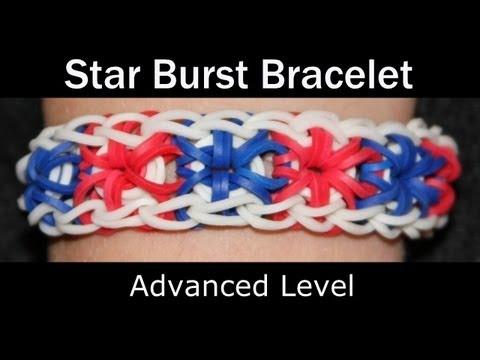 Rainbow Loom® Starburst Bracelet