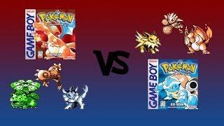 Pokémon Showdown #1 VS Alex (My Brother) Red VS Blue