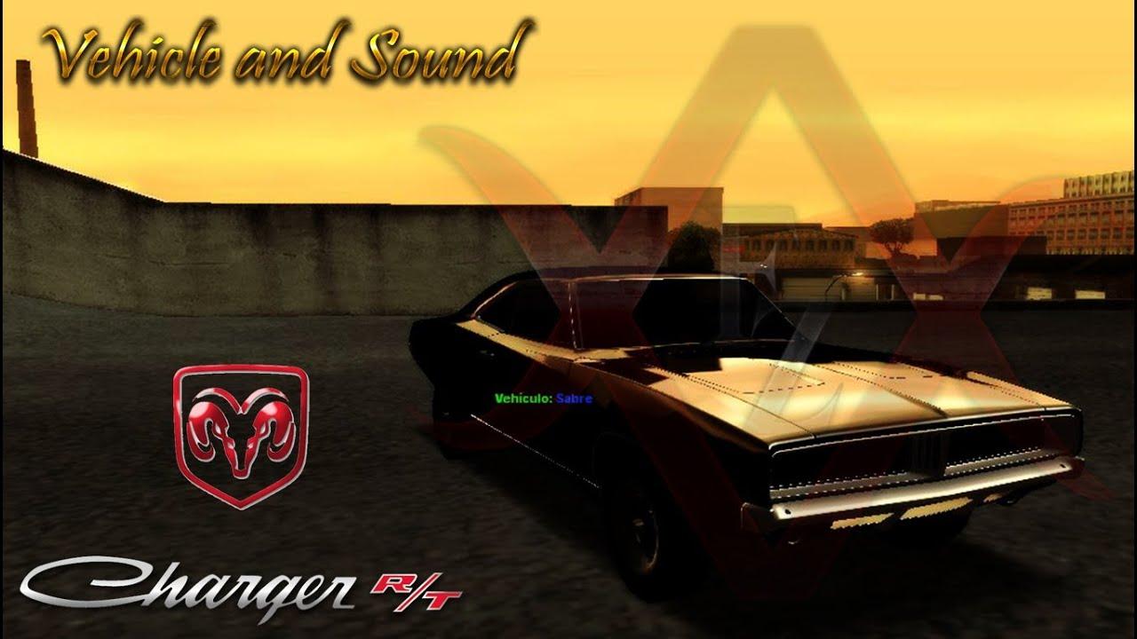 2013 Dodge Charger Se >> Dodge Charger R/T 1969 + Sound [GTA SA] DOWNLOAD - YouTube