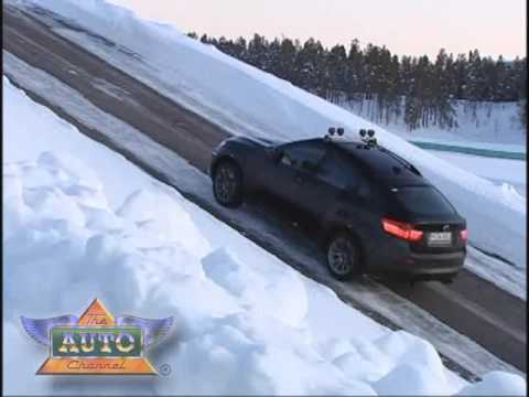 BMW Presents X6 M - Snow Drifting