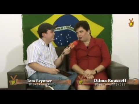Kibe Loco - TV Fuzarca #16 Entrevista Dilma Rousseff! Imperdível!