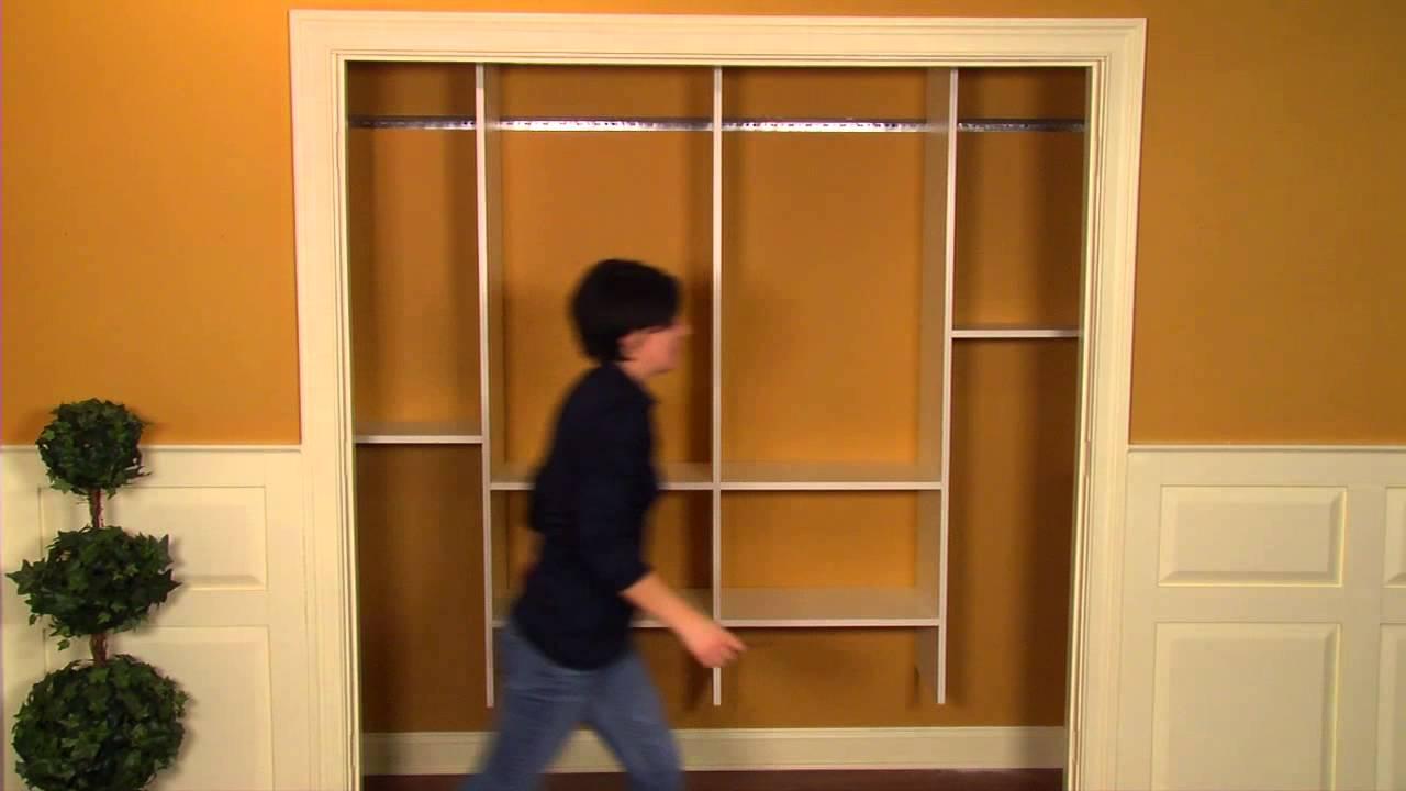 Installing A Closet Organizer