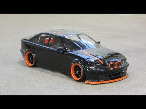 Rc Bmw E36 Sedan Drift Black Celebration Youtube