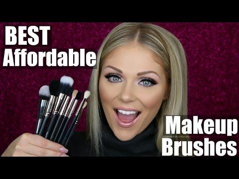 Best Affordable Makeup Brushes + Mac Brush Dupes!