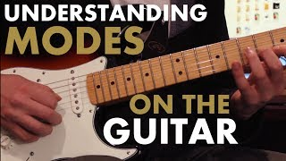 Playing In Every Mode with ONE Tiny Scale Shape [GUITAR LESSON - MODES - MUSIC THEORY]