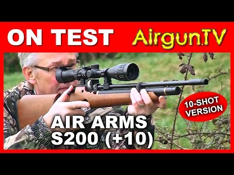 REVIEW: New Air Arms S200 10-shot PCP Air Rifle