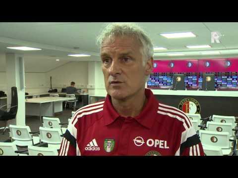 Fred Rutten na de jaarlijkse Open Dag van Feyenoord