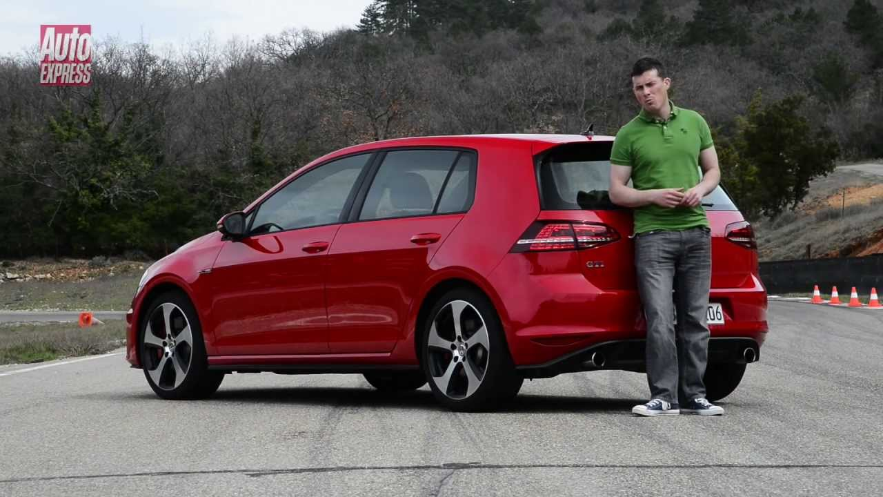 volkswagen golf gti  review auto express youtube