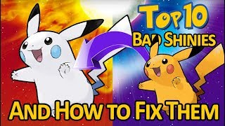 The Top 10 WORST Shiny Pokemon from Generation 1 (And How to Fix Them!)