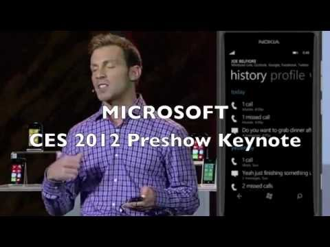 MICROSOFT VOICE RECOGNITION FAIL AT CES 2012 LIVE DEMO