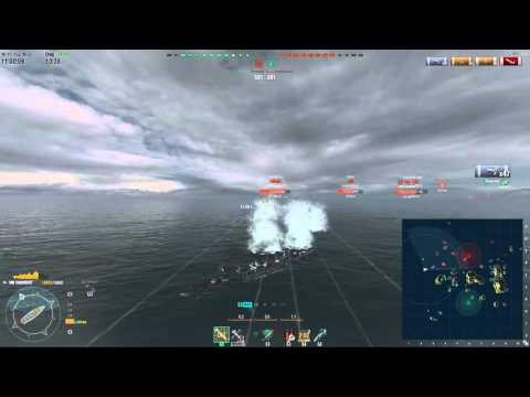 World of Warships: Kiev's Clumsier Cousin - Tashkent Commentary [141k damage]