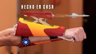 Lanza Misiles de Iron Man Casero - FUNCIONA !!
