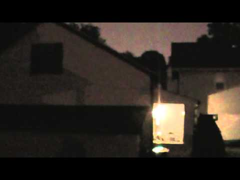 6/1/2013 -- St. Louis Missouri -- Tornado / Supercell back side -- MAJOR lightning