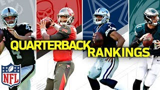 Ranking the NFL QB's from Worst to First | NFL Highlights