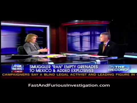 Greta Van Susteren Discussing Fast and Furious