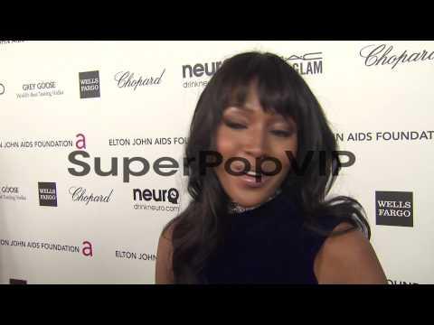 INTERVIEW - Naomi Campbell at Elton John AIDS Foundation ...